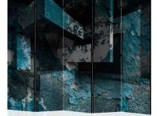 Paraván - Azure Geometry II [Room Dividers]